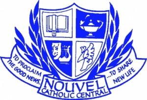 Nouvel Catholic Central Crest